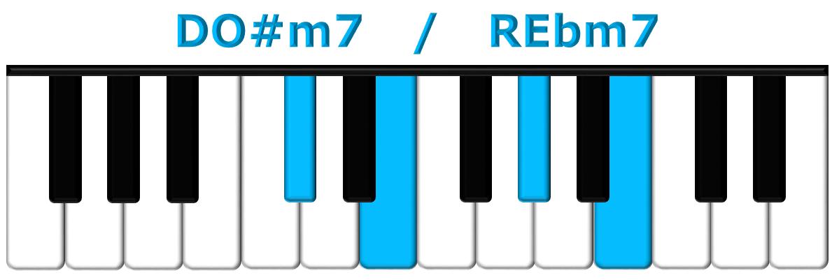 DO#m7 piano