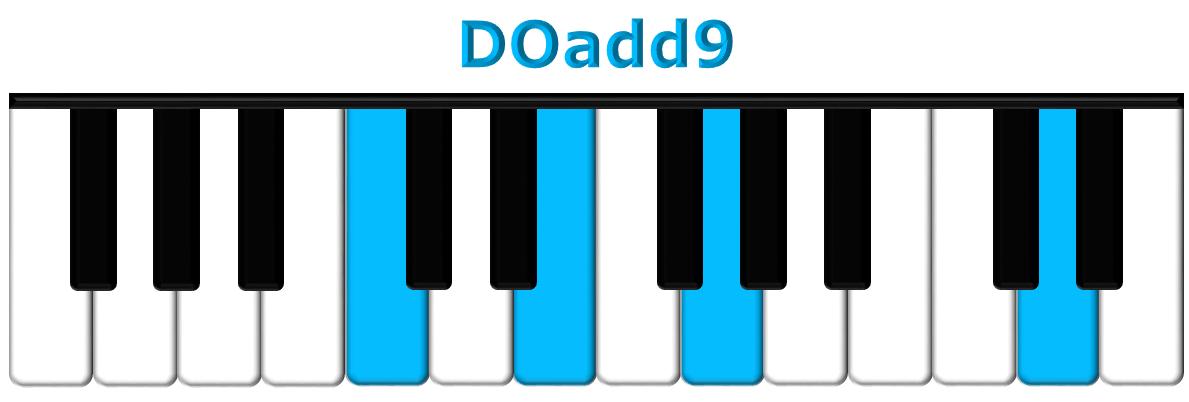 DOadd9 piano