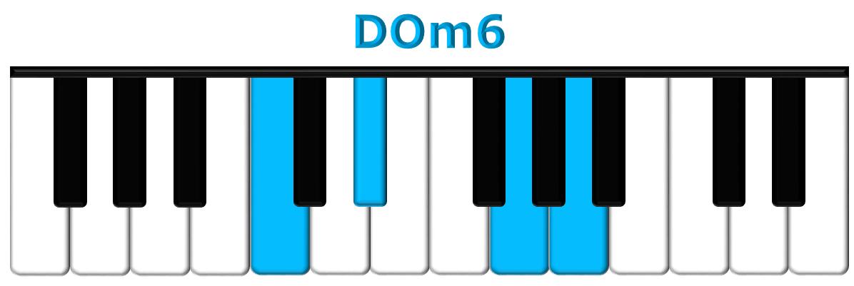 DOm6 piano