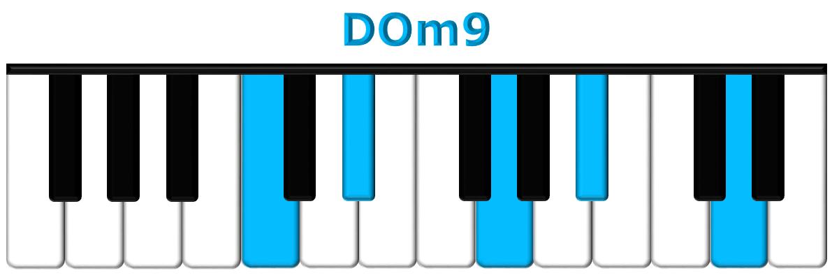 DOm9 piano