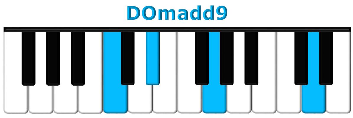 DOmadd9 piano