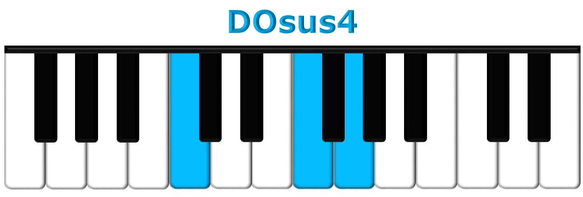 DOsus4 piano