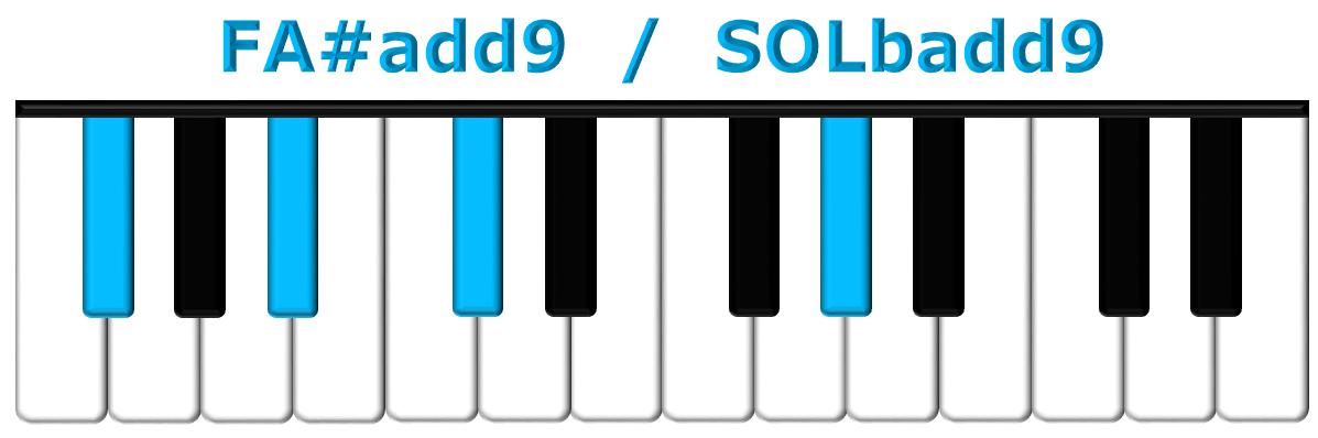 FA#add9 piano