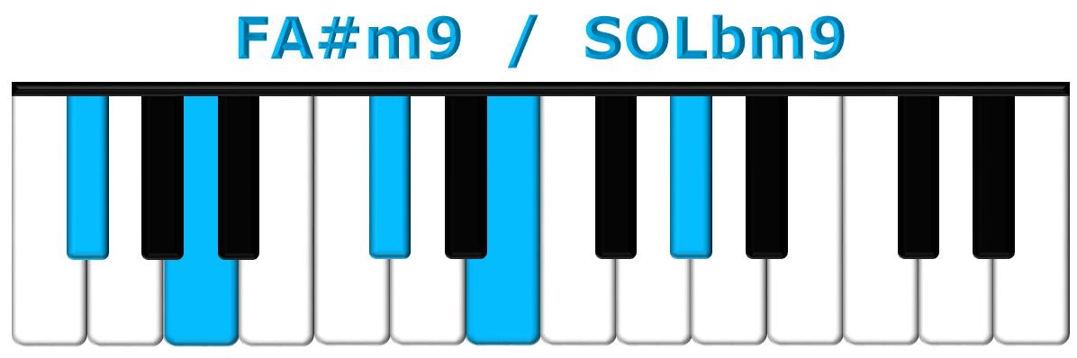 FA#m9 piano