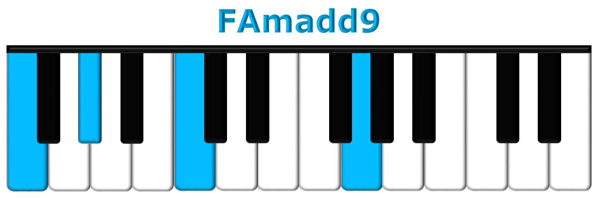 FAmadd9 piano
