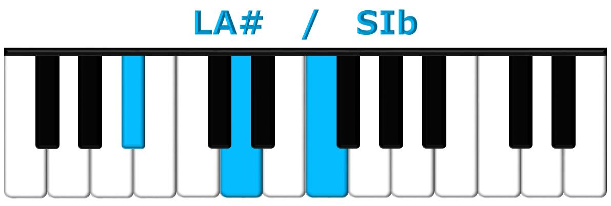 LA# piano