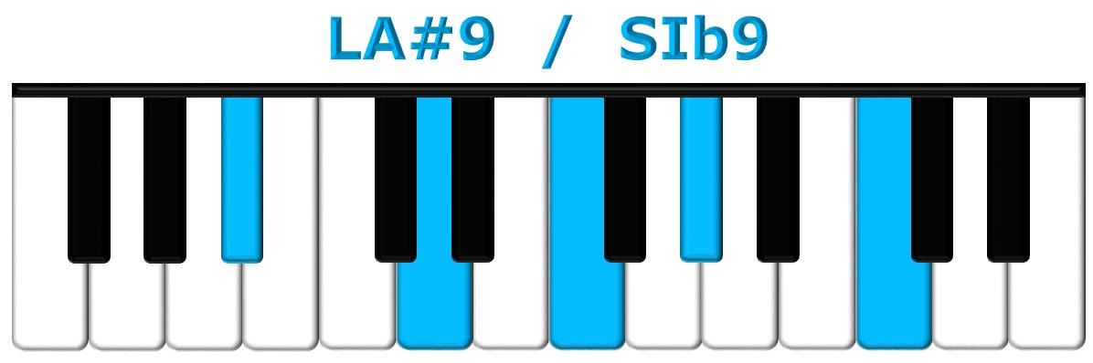 LA#9 piano