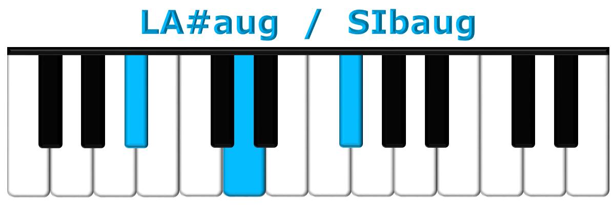 LA#aug piano