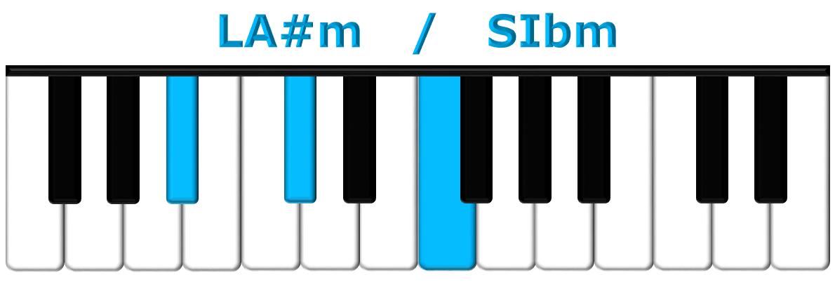 LA#m piano