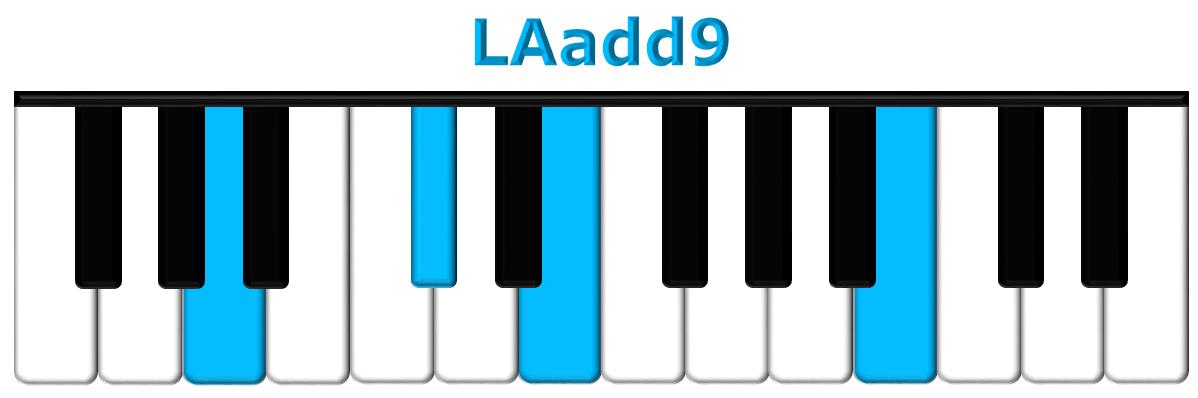 LAadd9 piano
