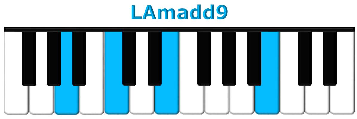 LAmadd9 piano