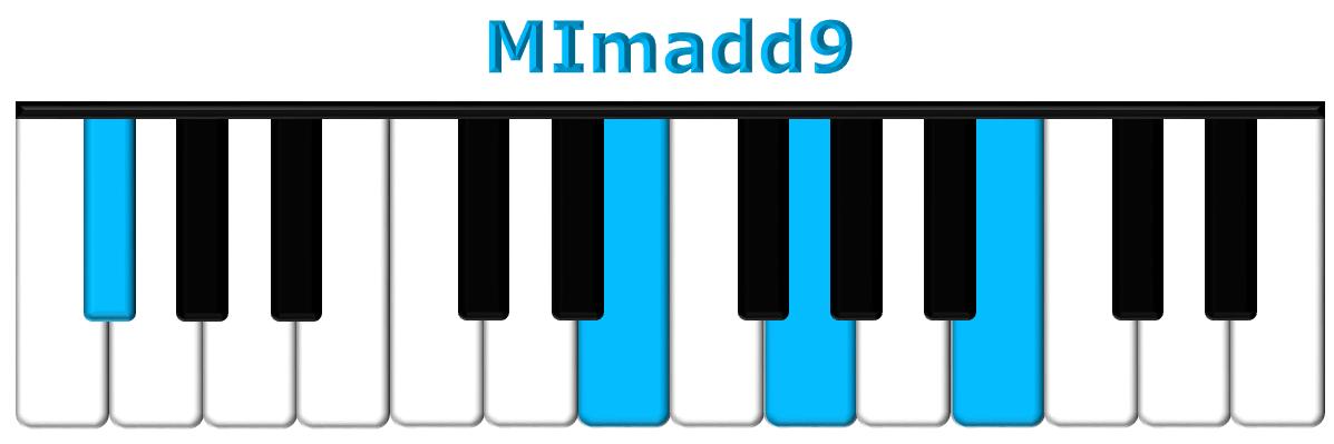 MImadd9 piano