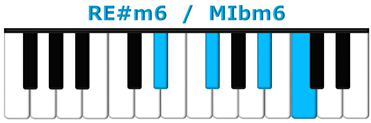 RE#m6 piano