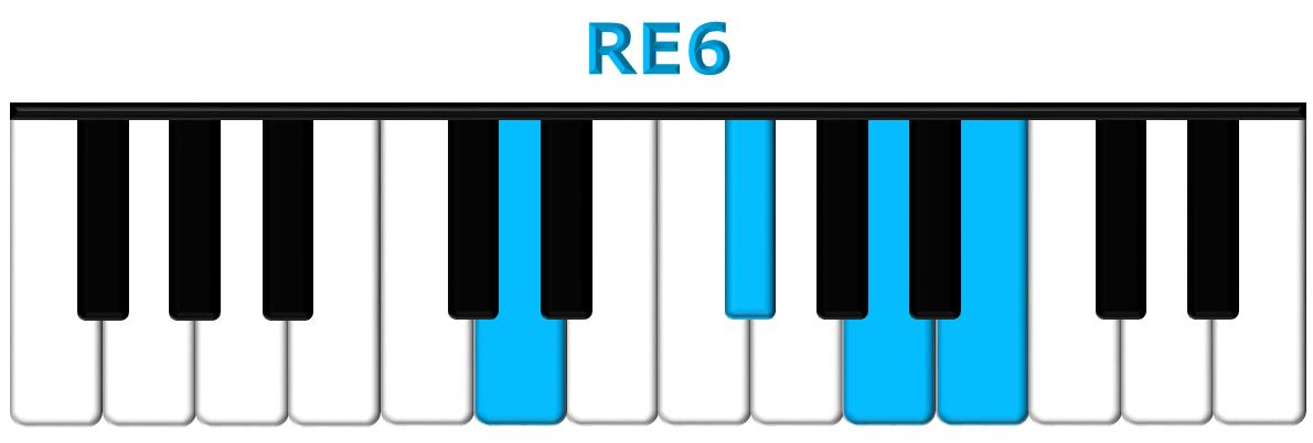 RE6 piano