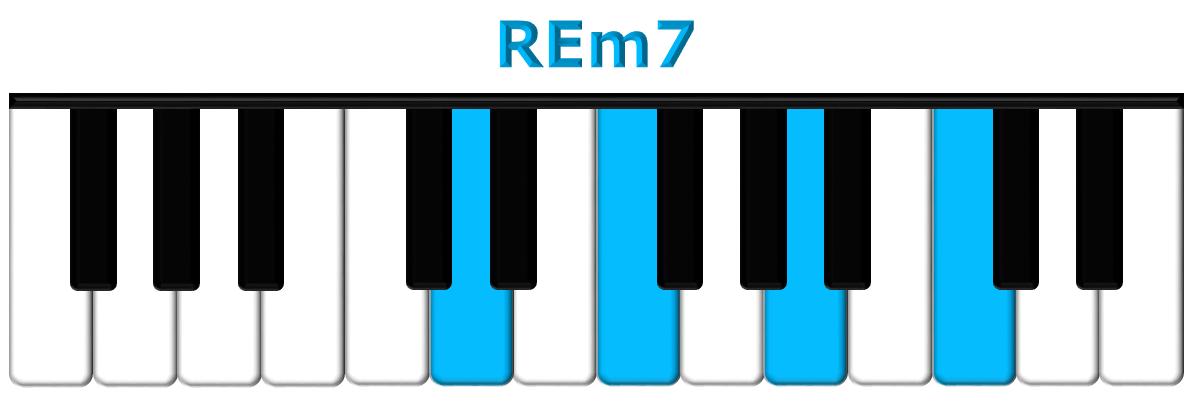 REm7 piano