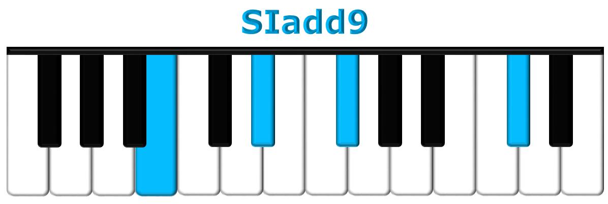 SIadd9 piano