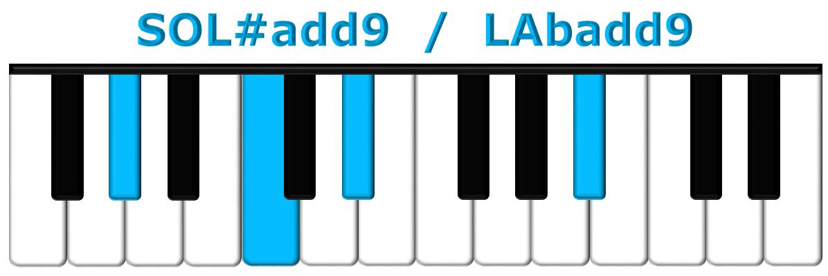 SOL#add9 piano