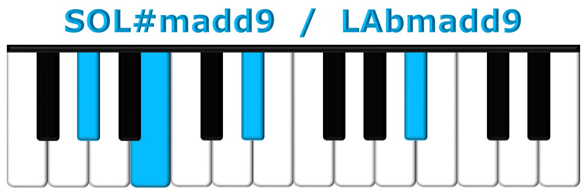 SOL#madd9 piano