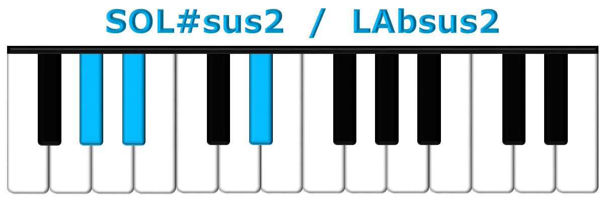 SOL#sus2 piano