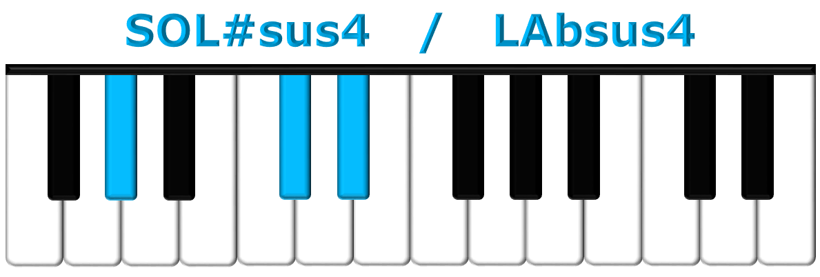 SOL#sus4 piano