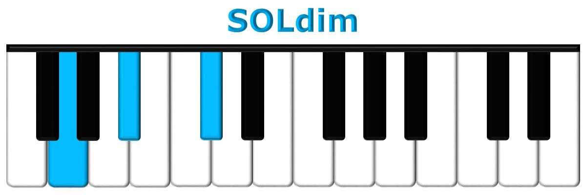 SOLdim piano