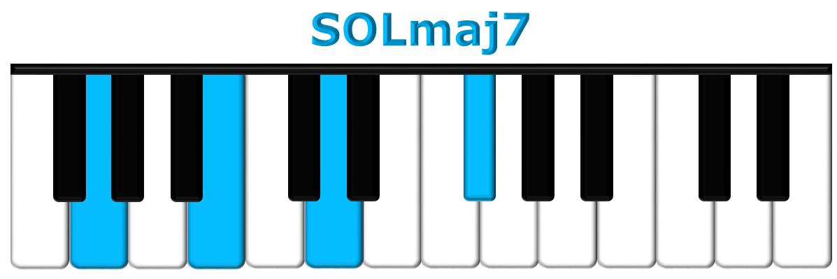 SOLmaj7 piano